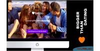 Bg video landing software dating belloo