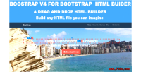 Bootstrap v4 theme for builder html bootstrap
