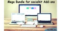 Bundle mega socialkit for addons