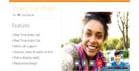 Call video phpsocial for plugin