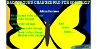 Changer background socialkit for pro