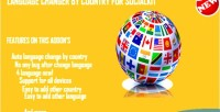 Changer language by socialkit for country
