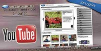 Youtube channel video grabber plugin cms vidplanet