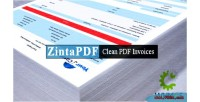 Clean zintapdf pdf whmcs for invoices