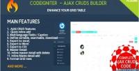 Cms codeigniter plugins crud ajax