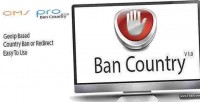 Compatible bancountry for pro cms