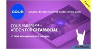 Coub parser v1 0 crea8social for addon