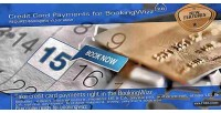Credit bookingwizz card payments