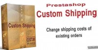 Custom prestashop shipping