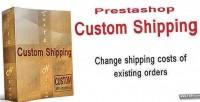 Custom prestashop shipping