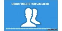 Delete group for socialkit
