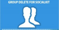 Delete group for socialkit