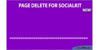 Delete page for socialkit
