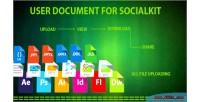 Document user for socialkit