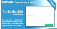 Ema mailwizz authorize.net with integration