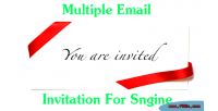 Email multiple sngine for invitation