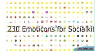 Emoticon better for socialkit