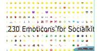 Emoticon better for socialkit