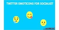 Emoticons twitter for socialkit
