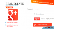 Estate real google login