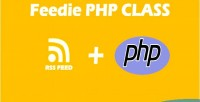 Feed feedie class php parsing