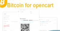 For bitcoin opencart