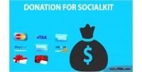 For donation socialkit
