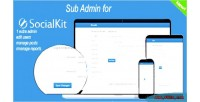 For subadmin socialkit