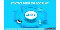 Form contact for socialkit