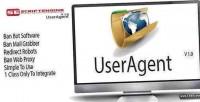 Useragent framework ban bot downloader spam
