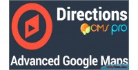 Google maps directions module pro cms for google