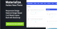 Hackers materialize news theme