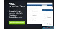 Hackers nova news theme