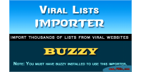 Importer list for buzzy