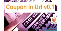 In coupon extension magento url