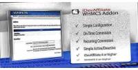 Integration idevaffiliate for whmcs