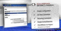Integration idevaffiliate for whmcs