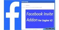 Invite facebook addon v2 sngine for