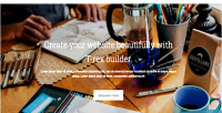 Landingpage slim for t site rex builder builder site visual