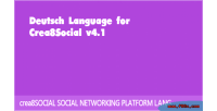 Language deutsch for crea8social