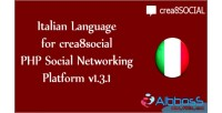 Language for crea8social php platform networking social language