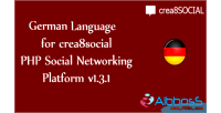 Language german for crea8social