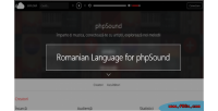 Language romanian for phpsound