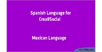 Language spanish for crea8social