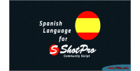 Language spanish for script commnunity shotpro
