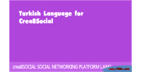 Language turkish for crea8social