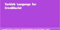 Language turkish for crea8social