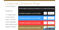 Law cookie compliance phpdolphin for plugin