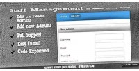 Management staff for system exchange powerful