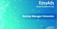 Manager backup for easyads